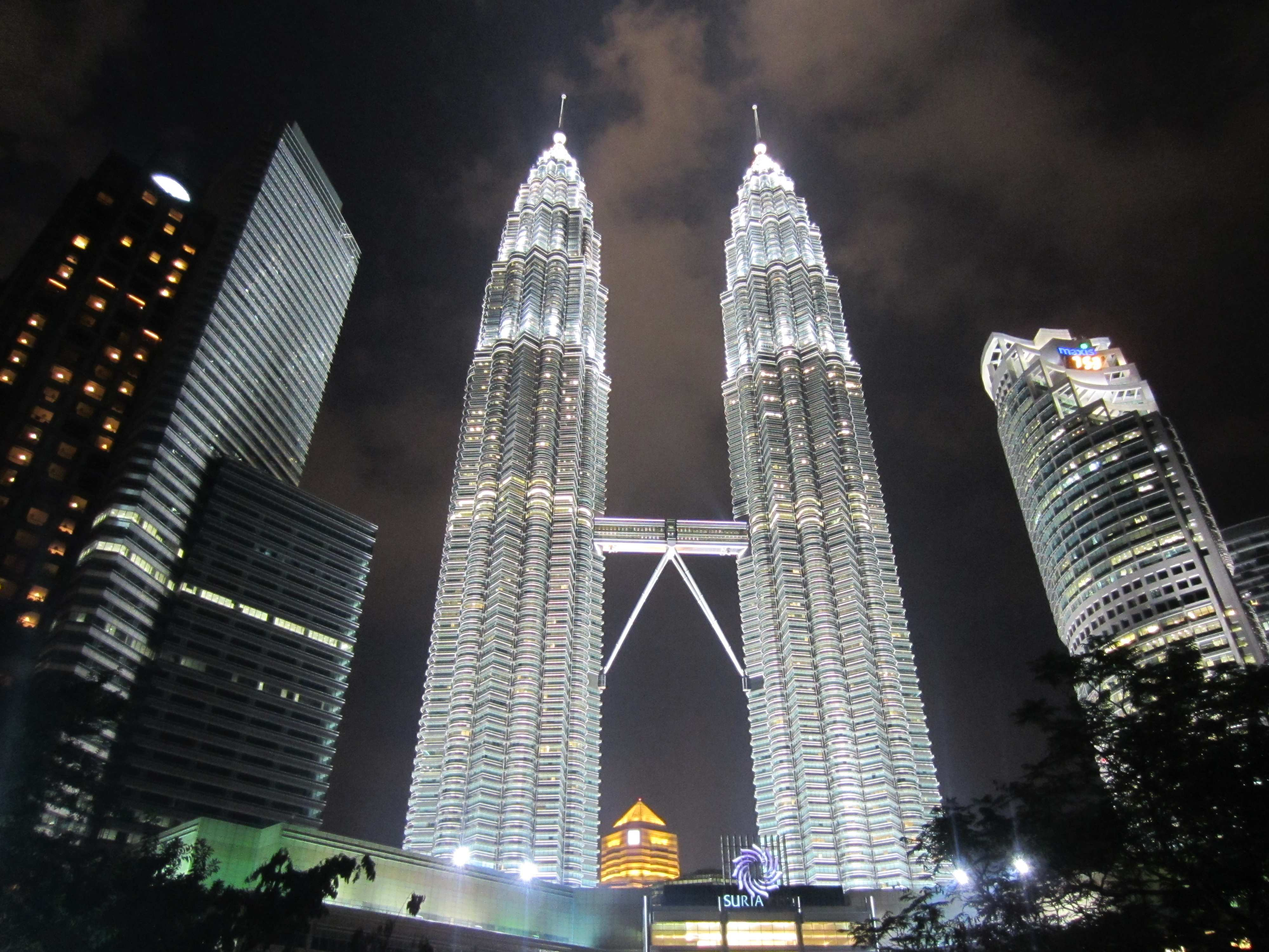 2560x1024 singapore night petronas - photo #27
